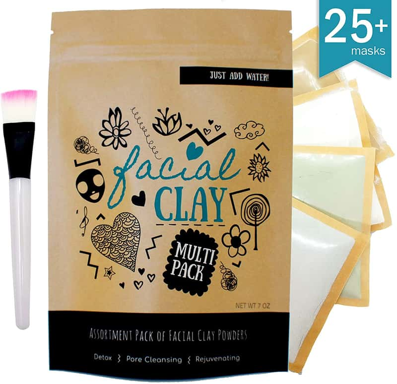 best facial clay for maskne